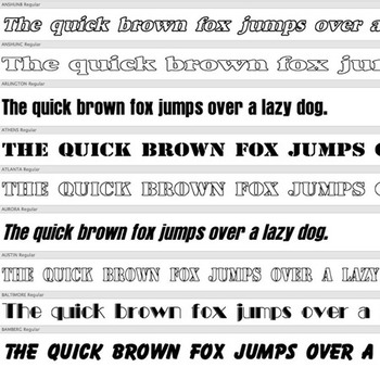 240+ HEADLINE FONTS – Commercial License for Teachers Pay Teachers Products!
