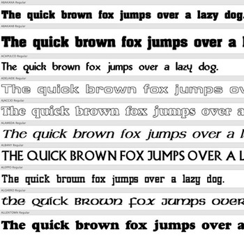 240+ HEADLINE FONTS – Commercial License for Teachers Pay