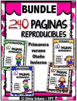 240  Reproducibles para todo el año - PAQUETE GIGANTE