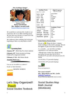 2.4.2 Life Cycle of a Pumpkin  Reading Street 2nd Grade Newsletter Unit 4 Week 2