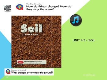 2.4.3, Soil, Power Point, Reading Street Second 2nd Grade, Unit 4 Week 3 Smart