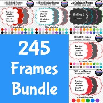 245 Frames ~ Money Saving Bundle