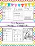 249 Grammar Worksheets Download. 1st-3rd Grade ELA.   ZIP file.