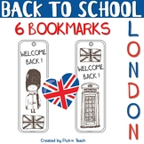 "24HR FREEBIE - June 25 - Welcome back ! BOOKMARKS - ""Londo"
