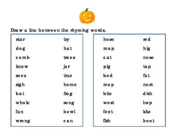24pages Halloween Writing Reading Rhyming Numbers Uppercase Lowercase Alphabet