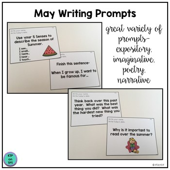 25 May Writing Prompts