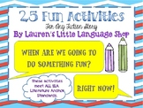 25 Activities for Any Story
