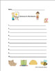 End of the year activities review ELA Activities Nouns Verbs Printables! Centers