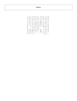 25 Answer New Moon Word Search with Key