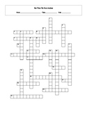 25 Answer Star Wars The Force Awakens Crossword Worksheet with Key