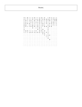 25 Answer Star Wars The Force Awakens Word Search Worksheet with Key