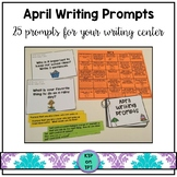 25 April Writing Prompts