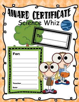 25 Award Certificates