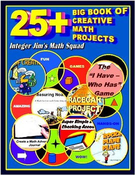 25+ BIG BOOK OF CREATIVE MATH PROJECTS