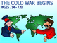 25 - Beginnings of the Cold War - PowerPoint Notes