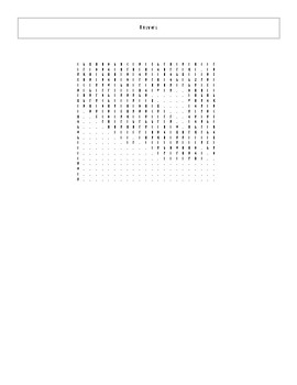 25 Best Ever Teen Novels Word Search Worksheet and Key