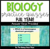 28 Biology Quizzes For Computer Use