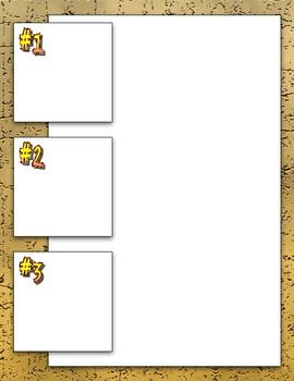 Blank Comic Strip Pack