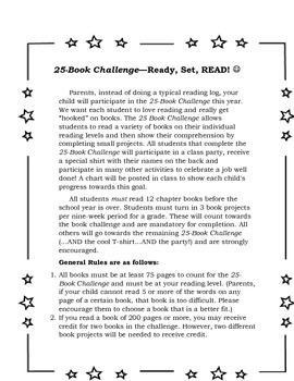 25-Book Challenge the Fun and Easy Way
