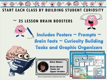 25 Brain Boosters - Posters - Tasks  and Writing Prompts for Any Topic You Teach