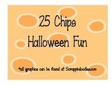 25 Chips Halloween Fun Math Game