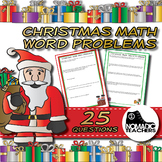 25 Christmas Math Word Problems