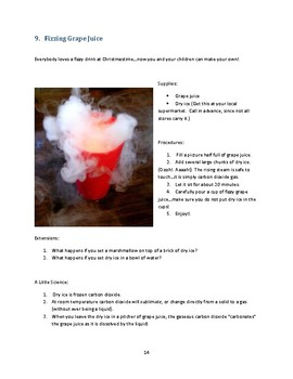 25 Christmas Science Projects