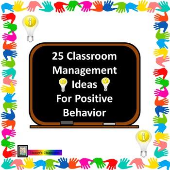 25 Classroom Management Ideas for Positive Behavior