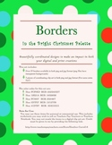 25 Clip Art Borders (Bright Christmas Color Palette) Personal and Commercial Use