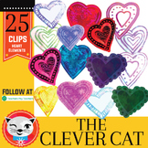 25 Clip Art Set: Some Hearts (by The Clever Cat)