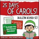 25 Clues - 25 Carols:  Name that Christmas Carol!  Bulletin Board Kit & PPT