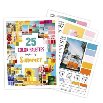 25 Color Palettes Inspired by Summer