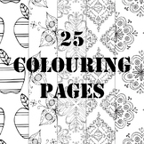 25 Colouring Pages Collection Printable
