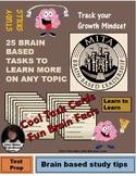25 Brain Based Study Skill Tasks for Upper Grades