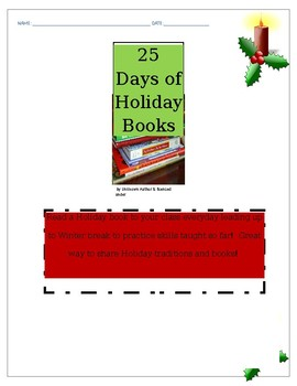 25 DAYS OF HOLIDAY BOOKS