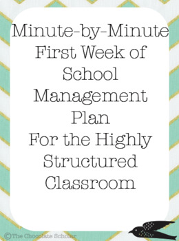 25 DETAILED PROCEDURE LESSON PLANS FOR HIGH STRUCTURED CLASSROOMS