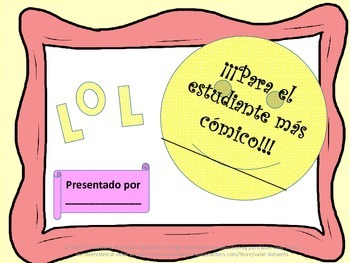 25 Unique End of the Year Awards in Spanish.  Reward your students in Style!