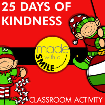 25 Days of Kindness Classroom Activity