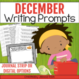 Writing Prompts for December Writing