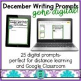 25 December Writing Prompts Gone Digital!