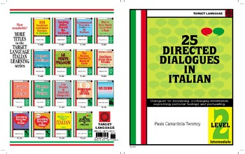 25 Directed Dialogues in Italian-Level 2