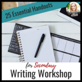 25 Essential Handouts for Writing Workshop in Secondary ELA