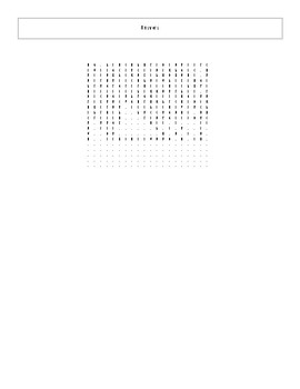 25 Extra Best Ever Teen Novels Word Search Worksheet and Key