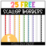 25 Free Scallop Page Borders