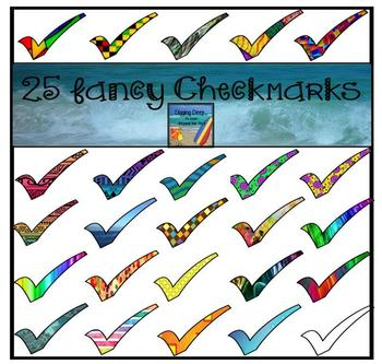 25 Fancy Checkmarks