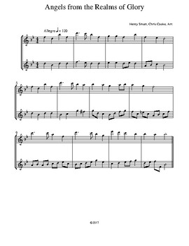Intermediate Christmas Duets for Flute
