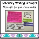 25 February Writing Prompts