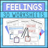 Feelings And Emotions Worksheets For Identifying Feelings And Coping Skills