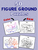50 Figure Ground Puzzles