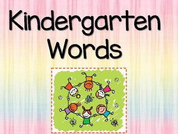 25 Fontas and Pinnell High Frequency Words PowerPoint Review